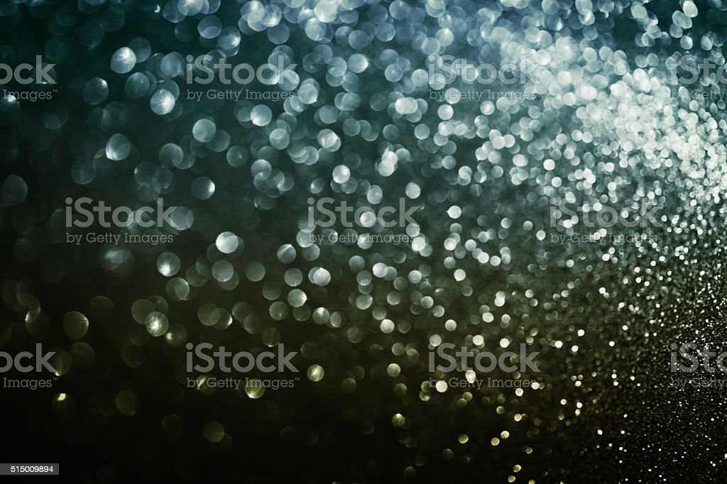 Abstract bokeh background or wallpaper from defocused lights stock photo