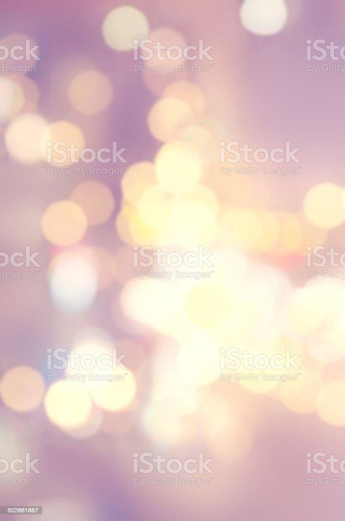 Abstract Bokeh Christmas  background. Elegant Vintage texture stock photo