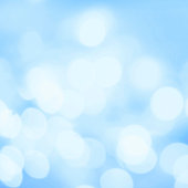 Abstract Bokeh Lights as festive background or texture.Blue and