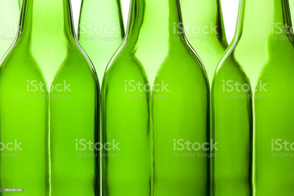 Abstract bottle shapes. royalty-free stock photo