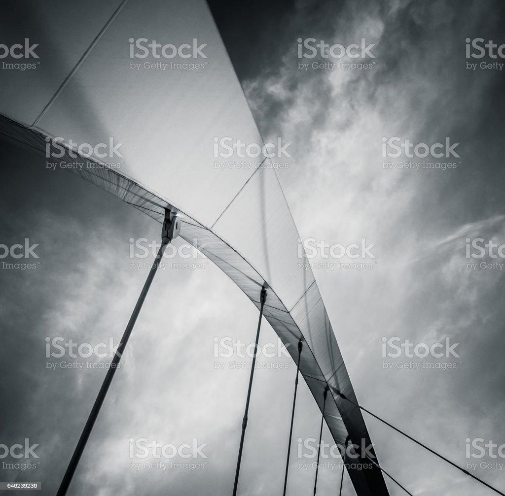 Abstract Bridge Detail stock photo