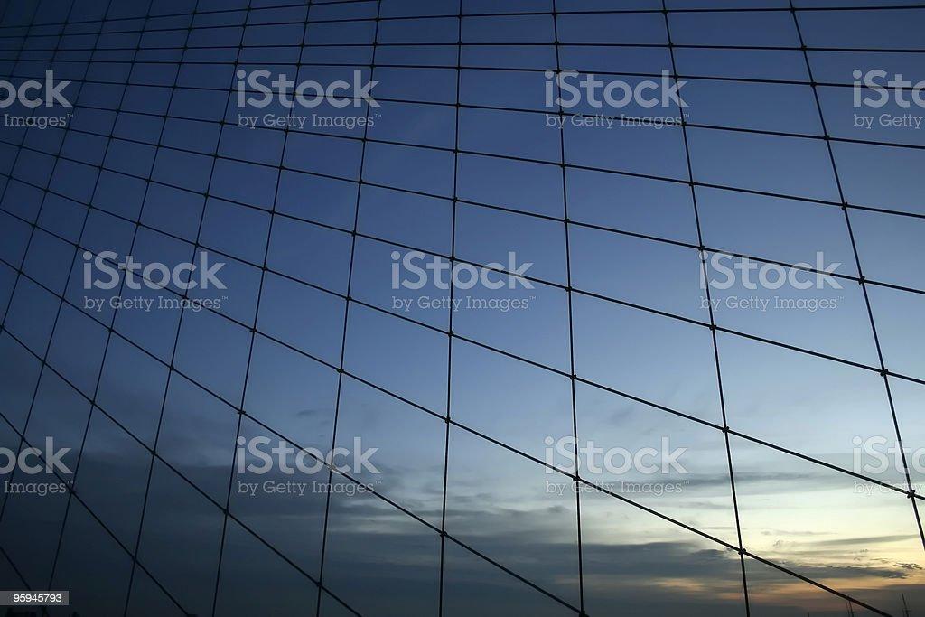 Abstrait Bridge au coucher du soleil photo libre de droits