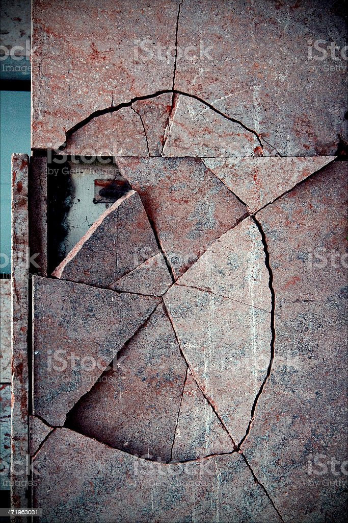 abstract broken stock photo