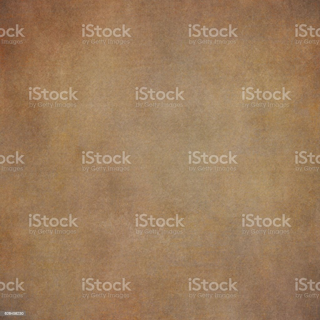 Abstract brown hand-painted vintage background stock photo