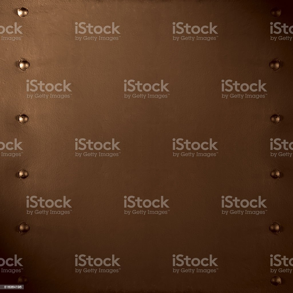 abstract brown metal background stock photo