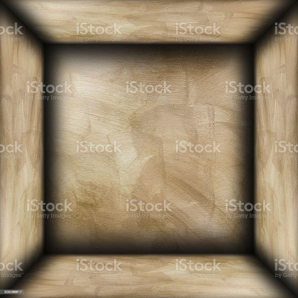 abstract brown plaster room royalty-free stock photo