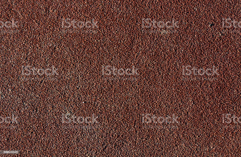Abstract brown running track surface. stock photo