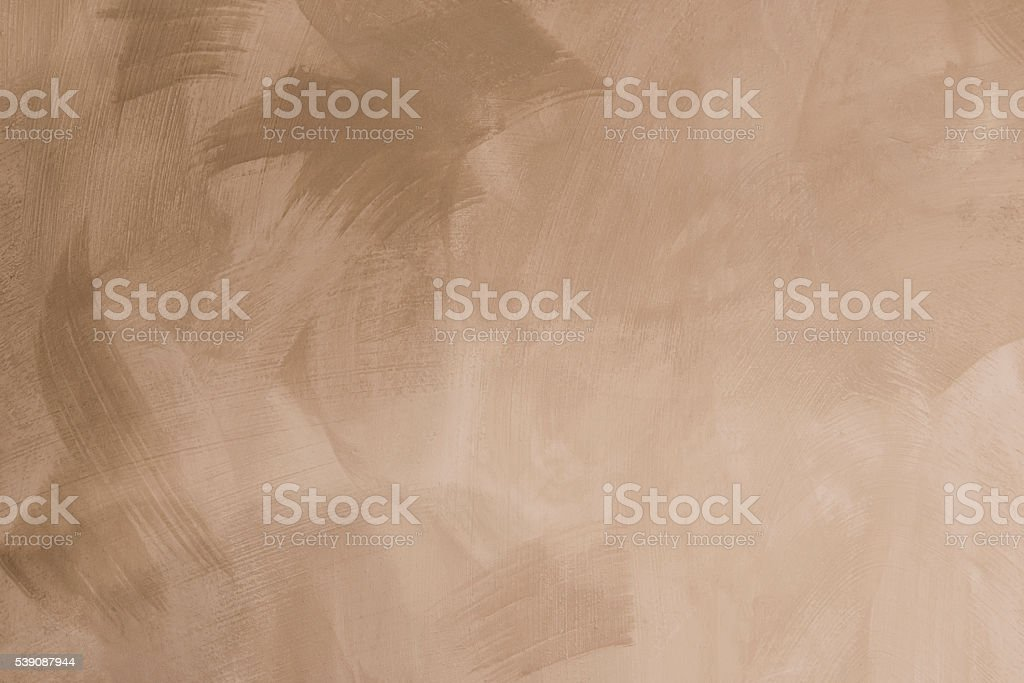 Abstract brushed wall background washed-out plaster brush-strokes stock photo