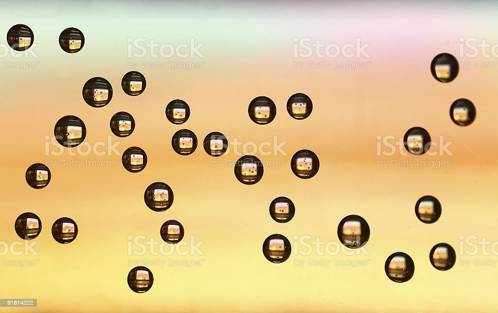 Abstract Bubbles royalty-free stock photo
