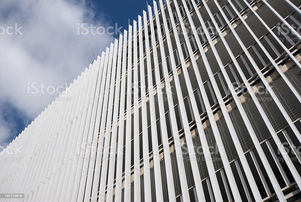Abstract Building Facade stock photo