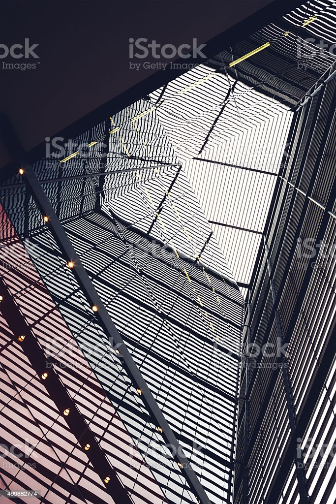 Abstract Building Lines stock photo