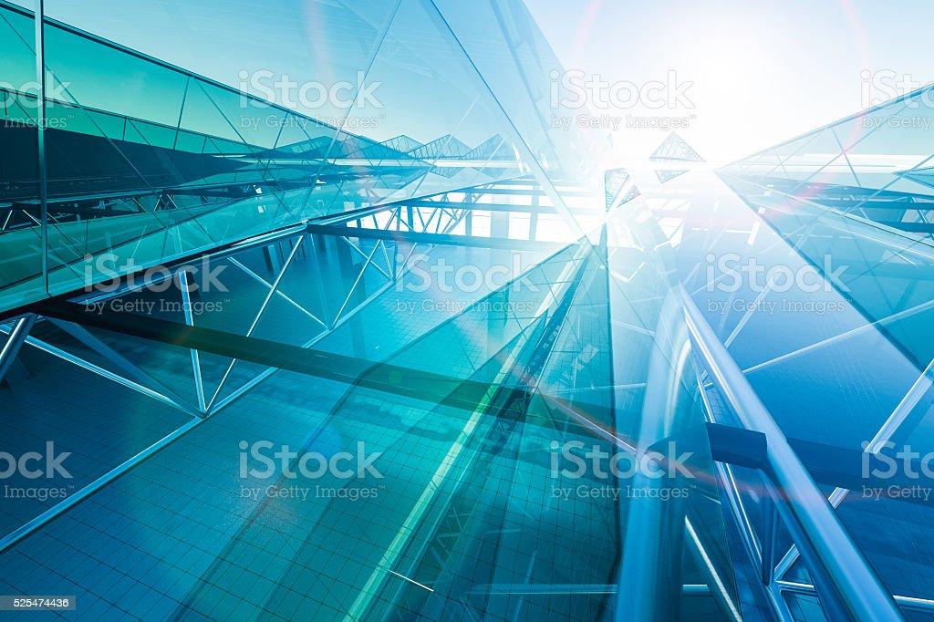 Abstrato do edifício - fotografia de stock