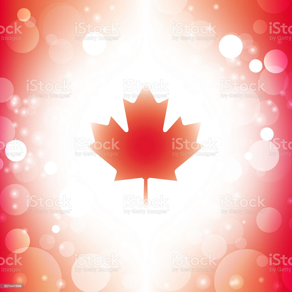abstract canadian flag stock photo