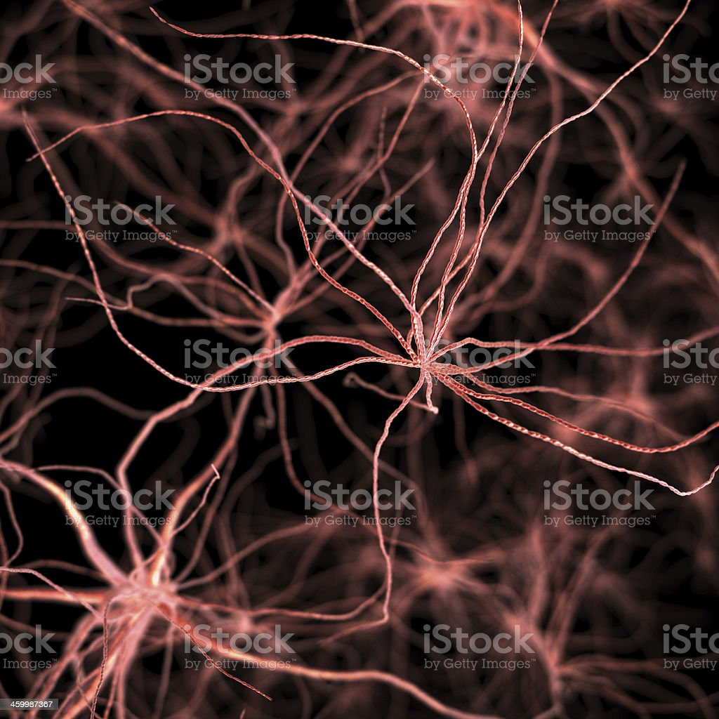 Abstract Cancer cell stock photo