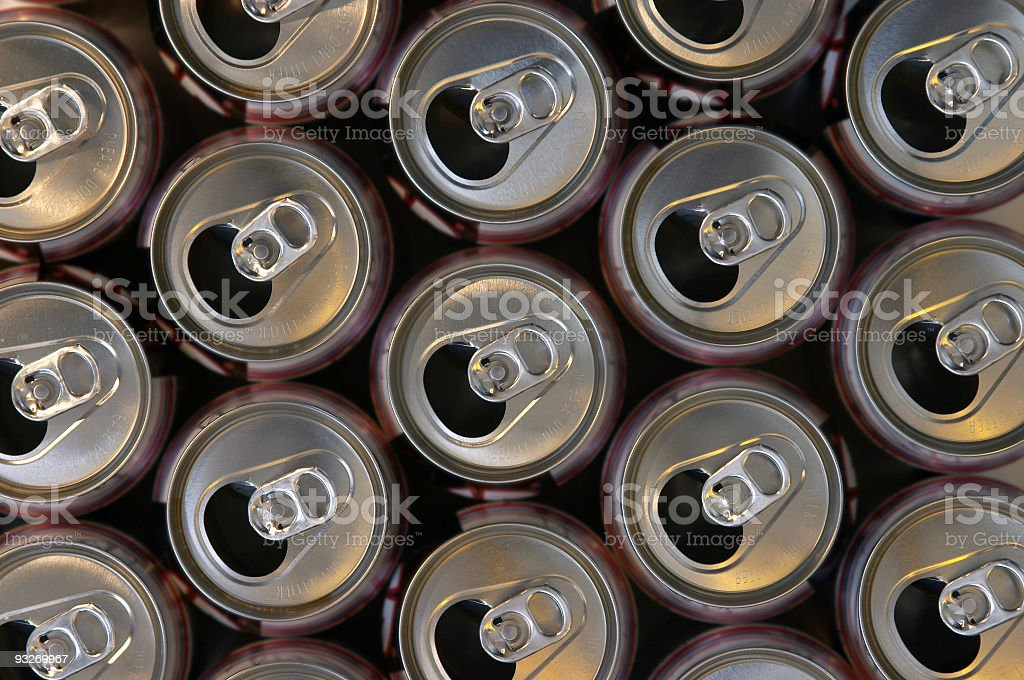 Abstract Cans #2 royalty-free stock photo