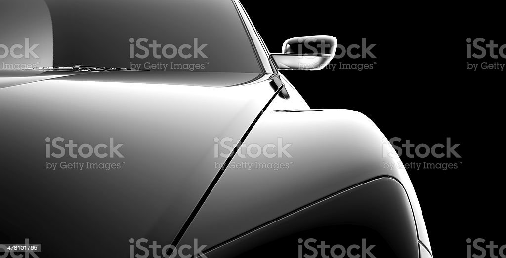 abstract car model royalty-free stock photo