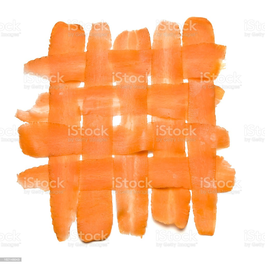 Abstract Carrot royalty-free stock photo