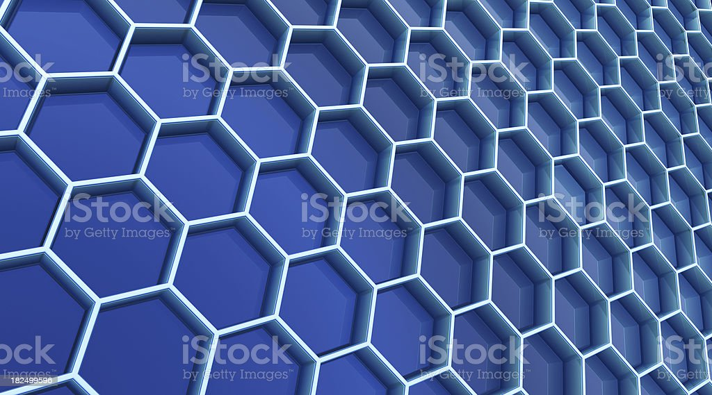 Abstract cell background royalty-free stock photo