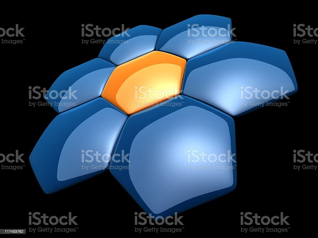 abstract cells royalty-free stock photo
