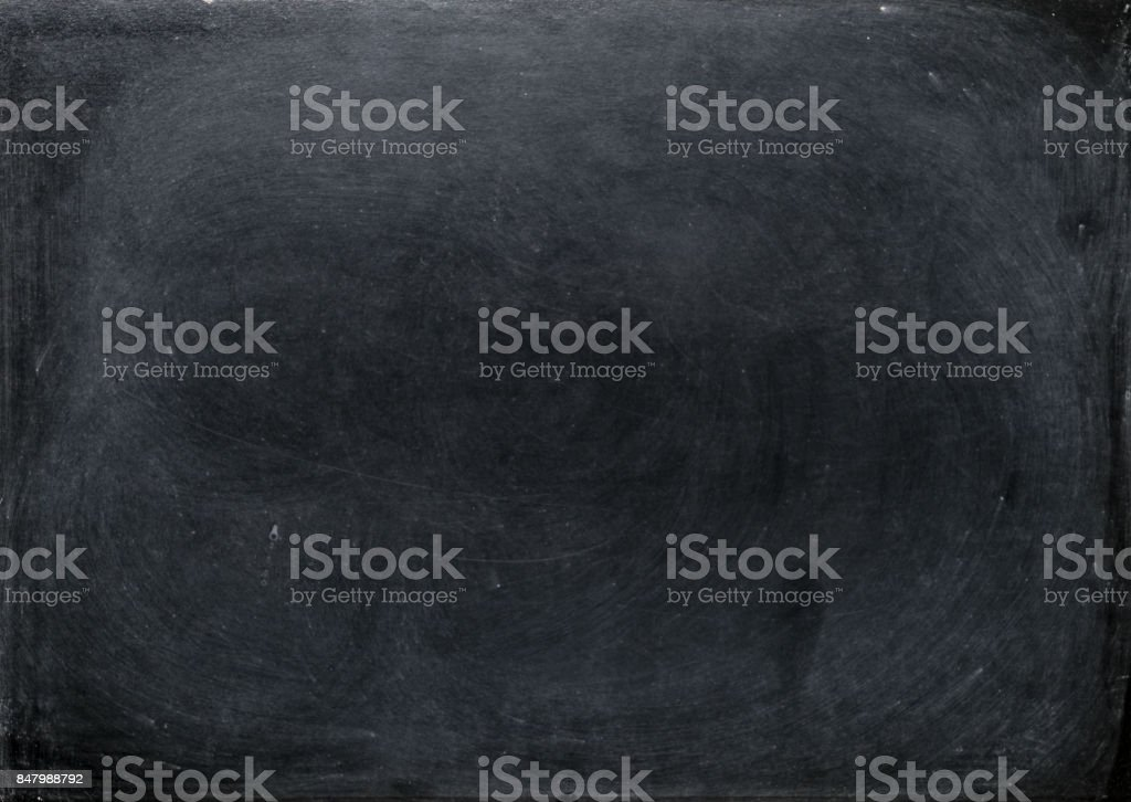 Abstract chalk blackboard with chalk scratch , ready used as background for add text or graphic stock photo