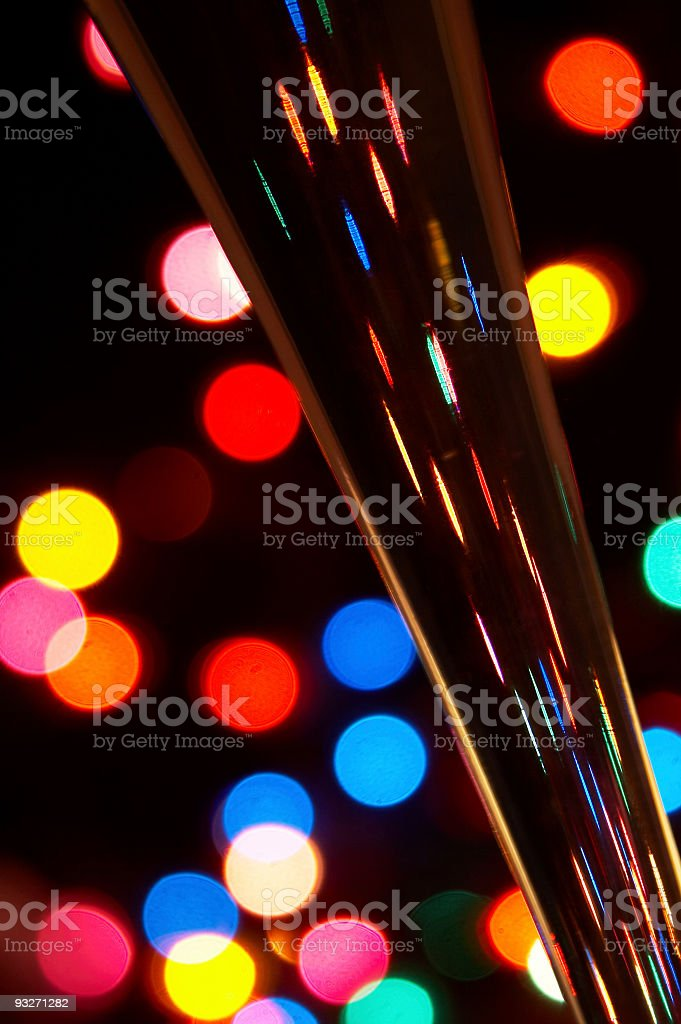 Abstract Champagne royalty-free stock photo