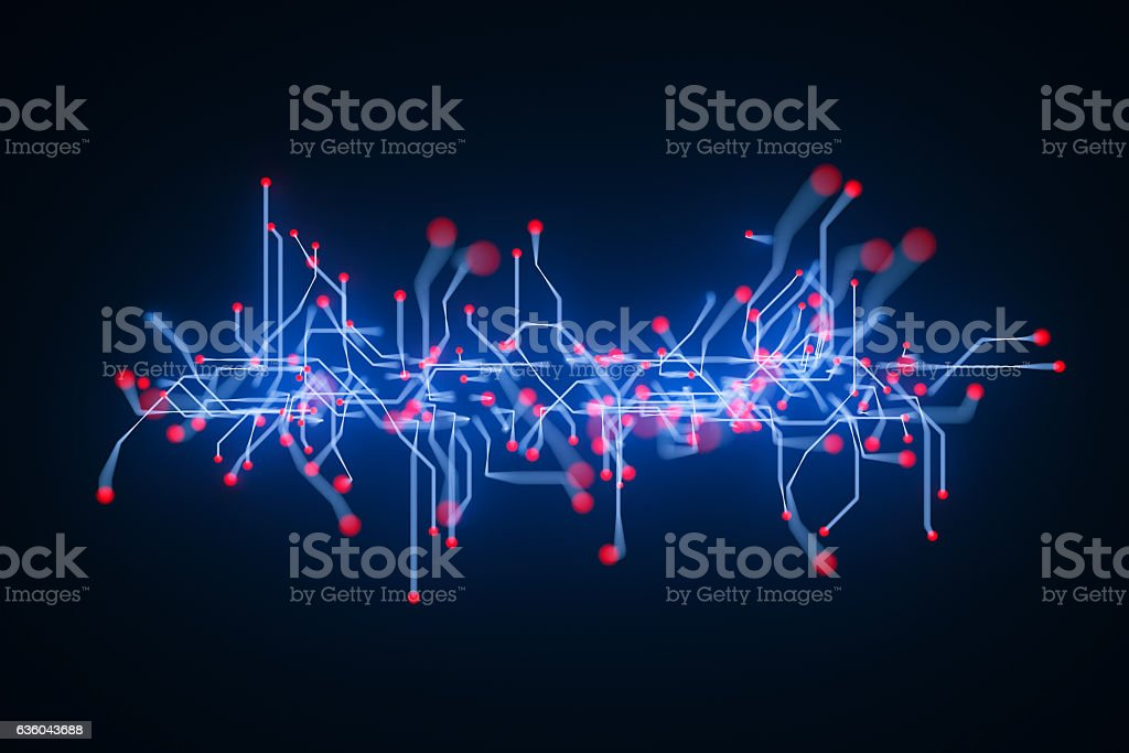 Abstract chaotic background stock photo