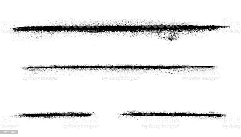 Abstract Charcoal Line Markings royalty-free stock photo