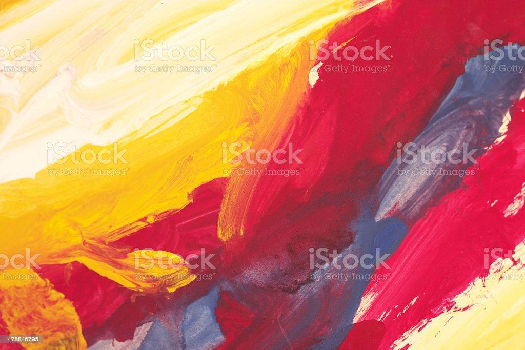 Abstract Child Art stock photo