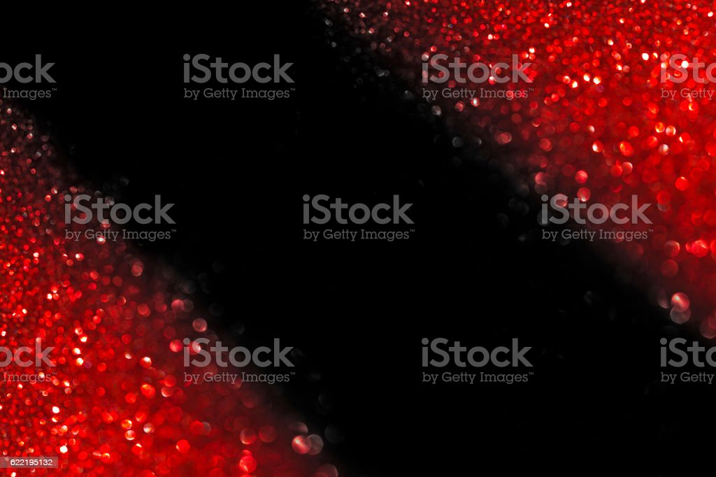 Abstract Christmas red light stock photo