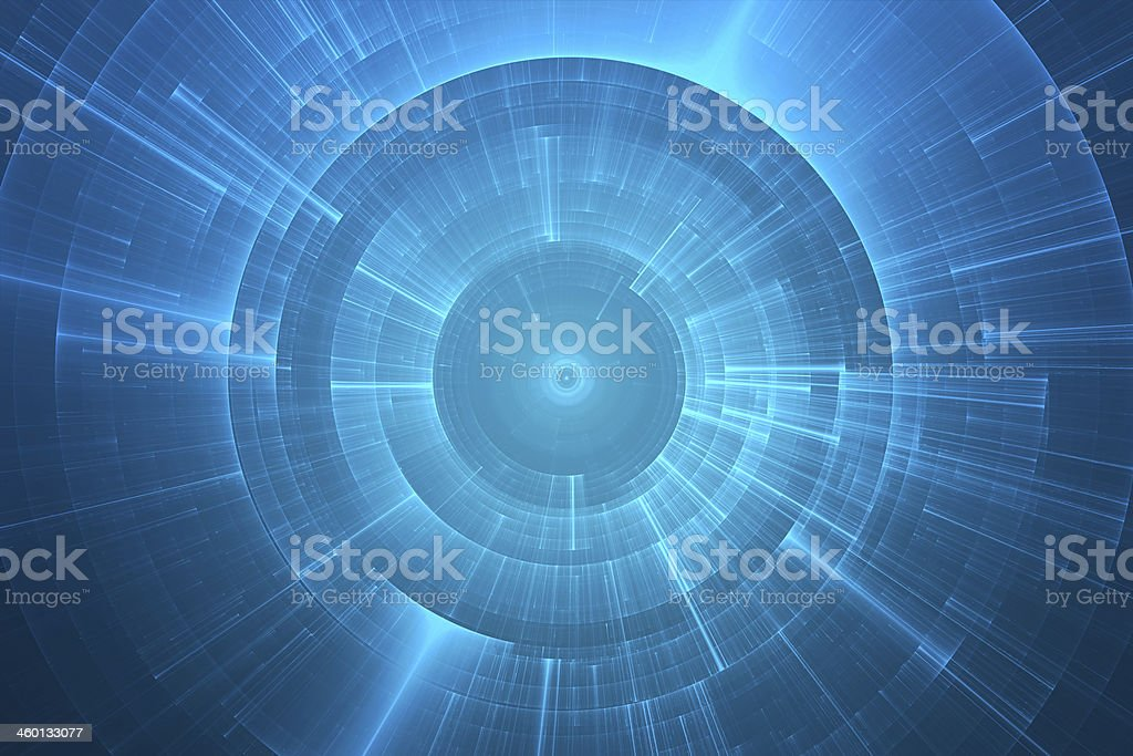 Abstract circular background stock photo