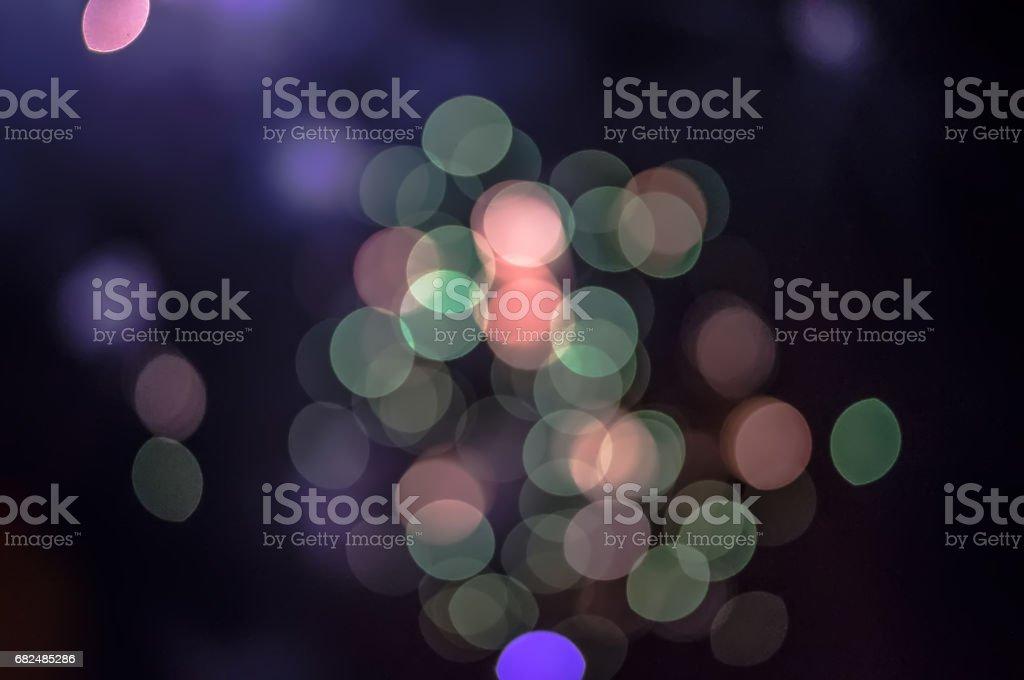 Abstract circular bokeh background stock photo