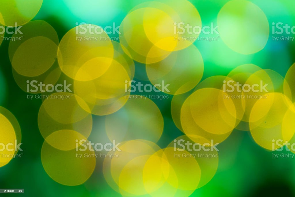 Abstract circular bokeh circles colors stock photo