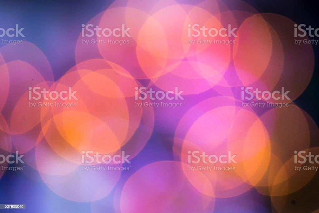 Abstract circular bokeh colors circles stock photo