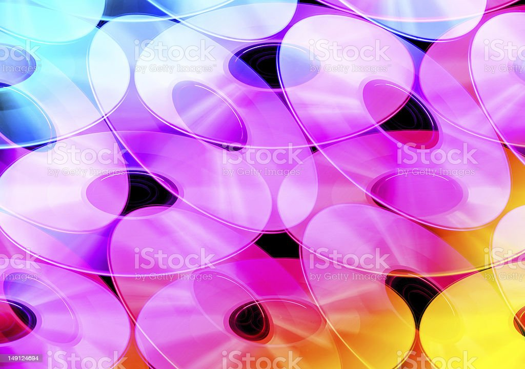 Abstract circular pattern royalty-free stock photo