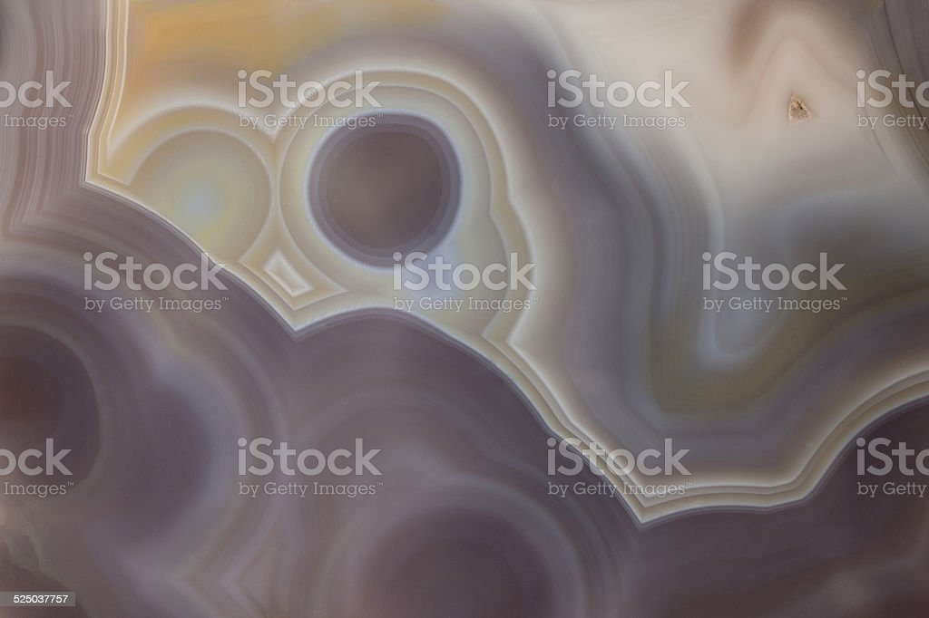 Abstract close up from a piece of Agate stock photo