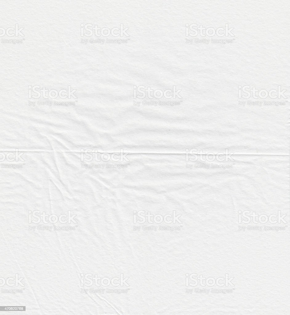 Abstract close-up of white paper texture stock photo