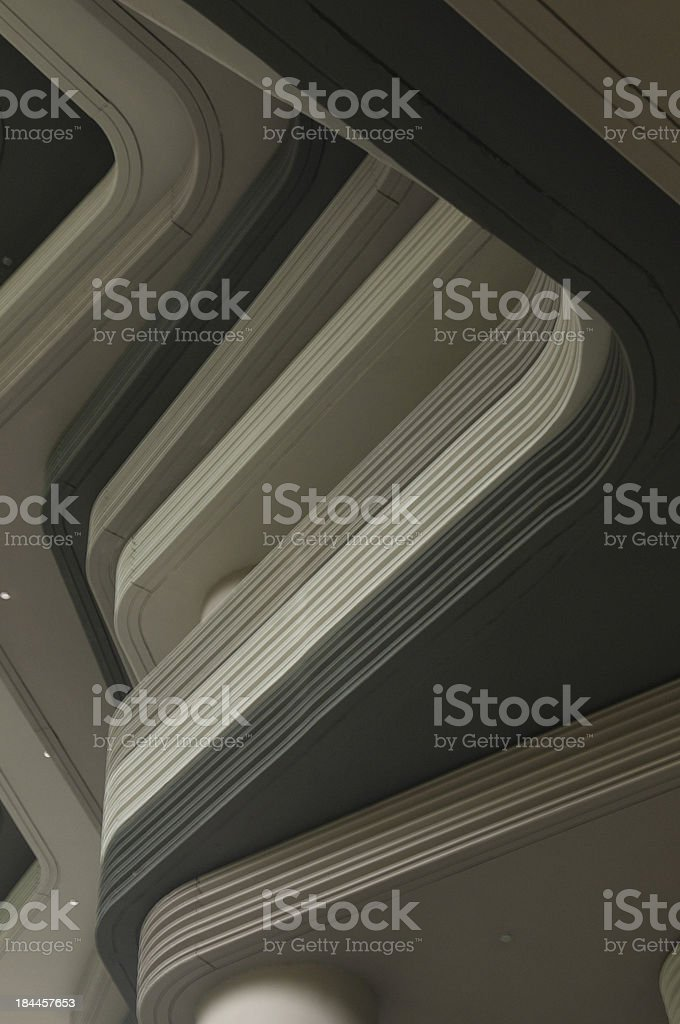 Abstract closeup photo of Hotel building in Singapore stock photo