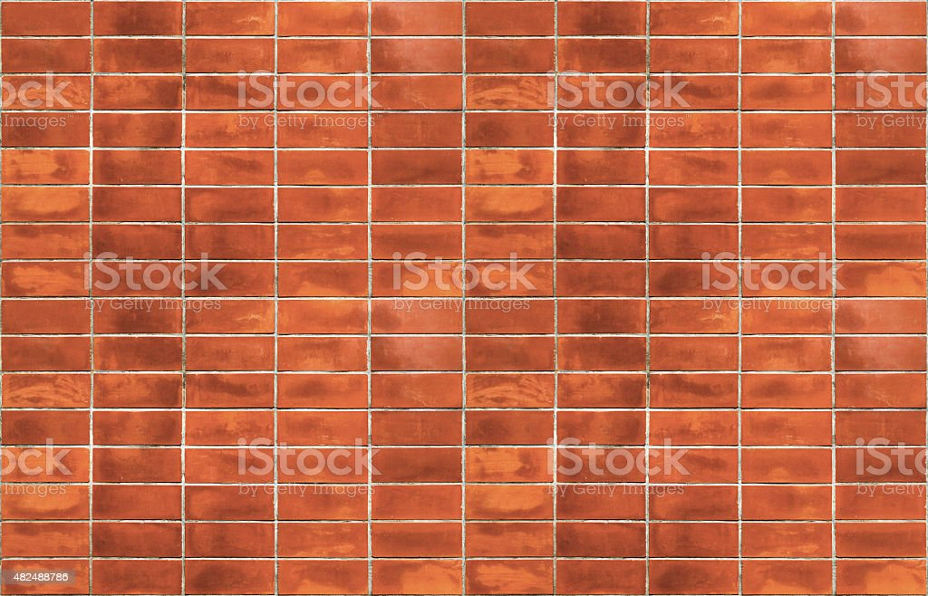 Abstract close-up red brick wall background royalty-free stock photo