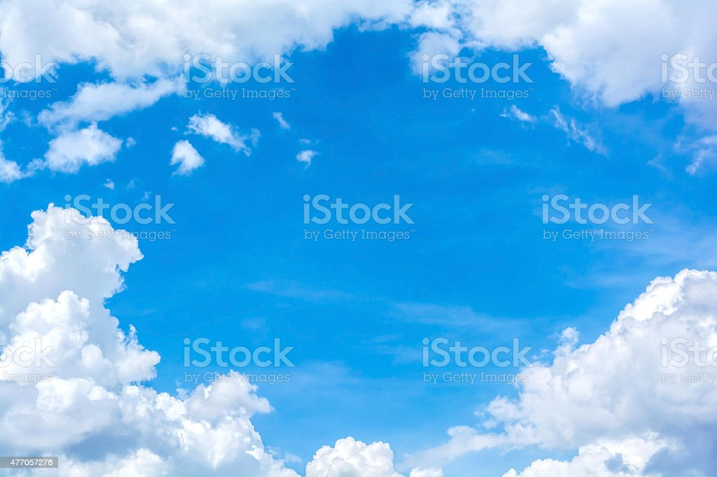 abstract cloud on the sky stock photo