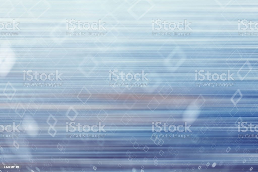 abstract cold blue background with motion blur stock photo