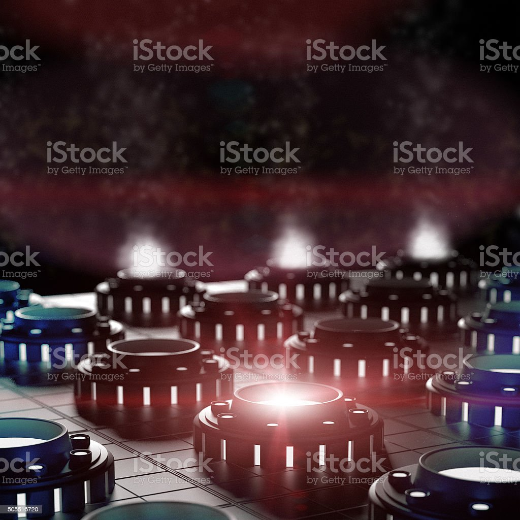 Abstract Collider stock photo