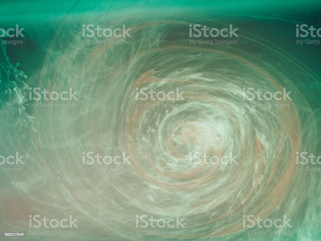 Abstract colored background. Colored smoke, ink in water, the patterns of the universe stock photo