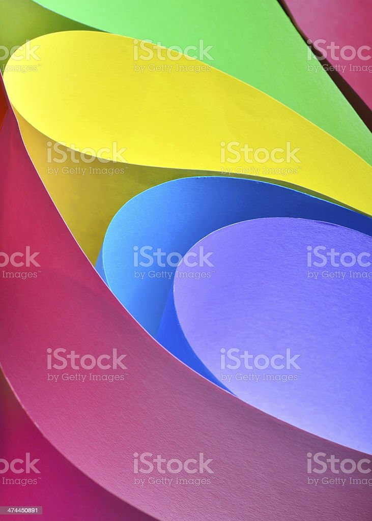 abstract colored paper stock photo
