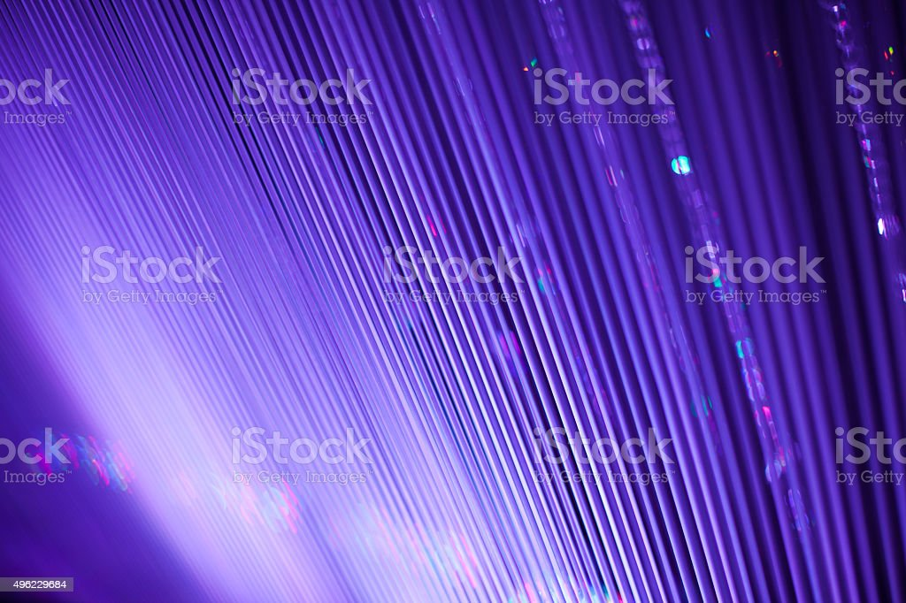 Abstract colorful blurred light effect stock photo