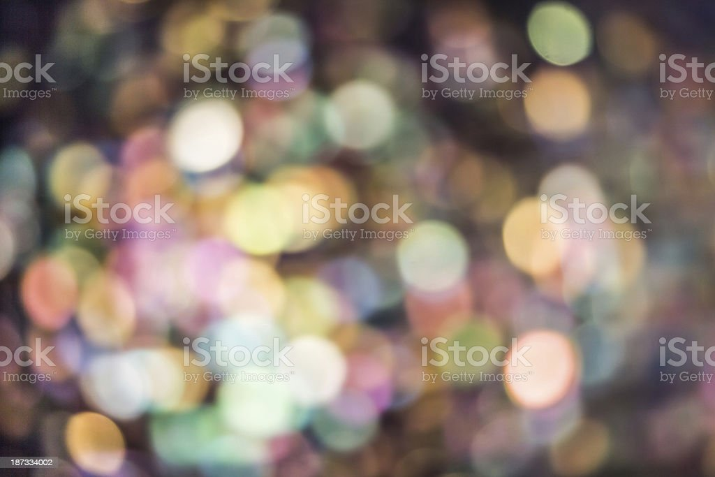 abstract colorful bokeh as background royalty-free stock photo