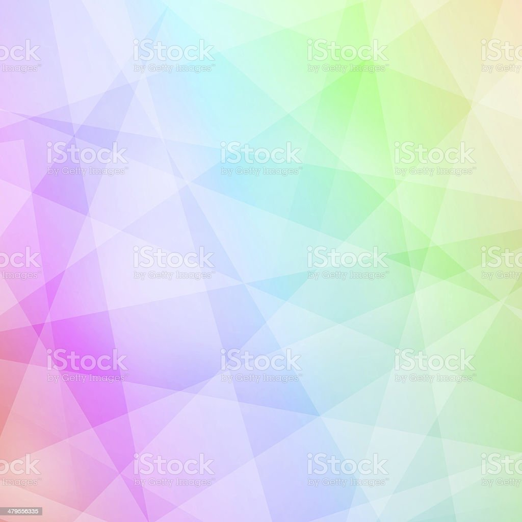 Abstract colorful geometric background royalty-free stock photo