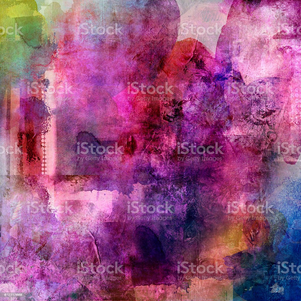 abstract colorful grunge stock photo