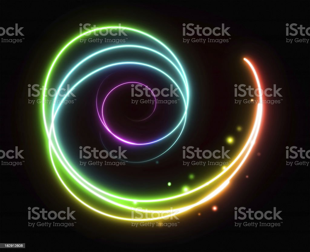 Abstract  Colorful light Backgrounds Textured Effect royalty-free stock photo