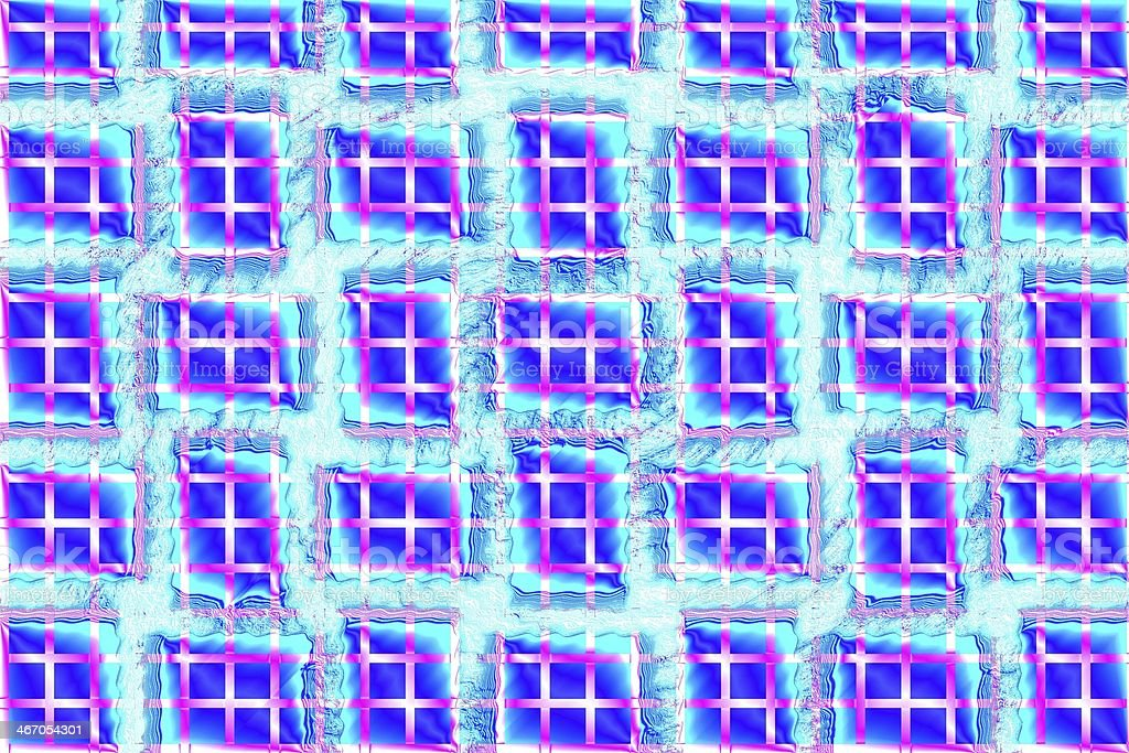 Abstract colorful rectangle mosaic pattern background stock photo