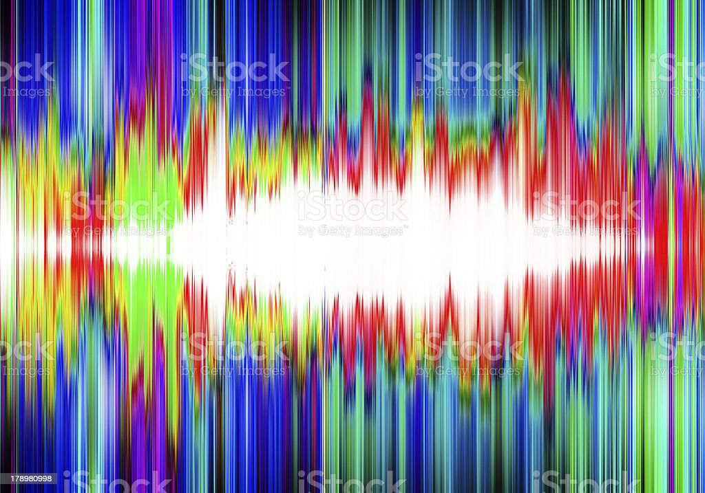 abstract colorful sound check wave royalty-free stock photo
